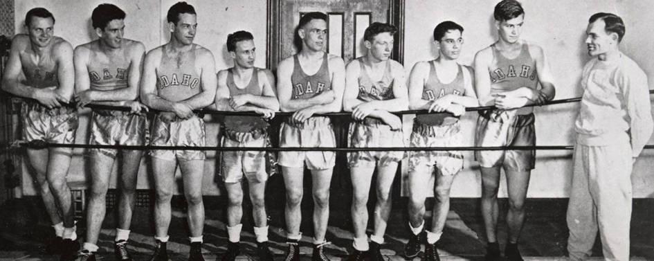 1941-1942 University of Idaho boxing squad